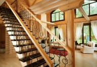 Выбор лестницы для загородного дома