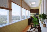 Застекленные лоджии и балконы