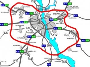 Новая киевская окружная появится к 2012 году