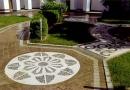 Материалы для создания садовых дорожек