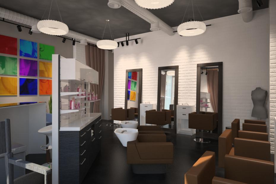Дизайн салона маникюра и педикюра