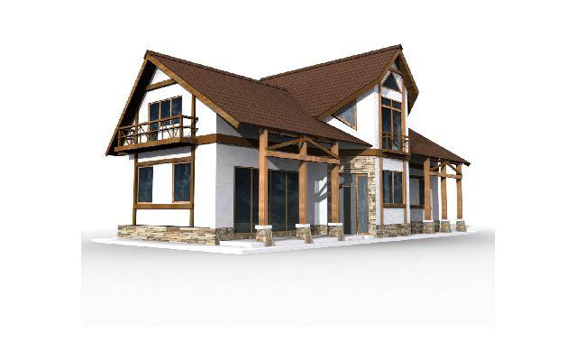 руками. Строительство каркасного дома