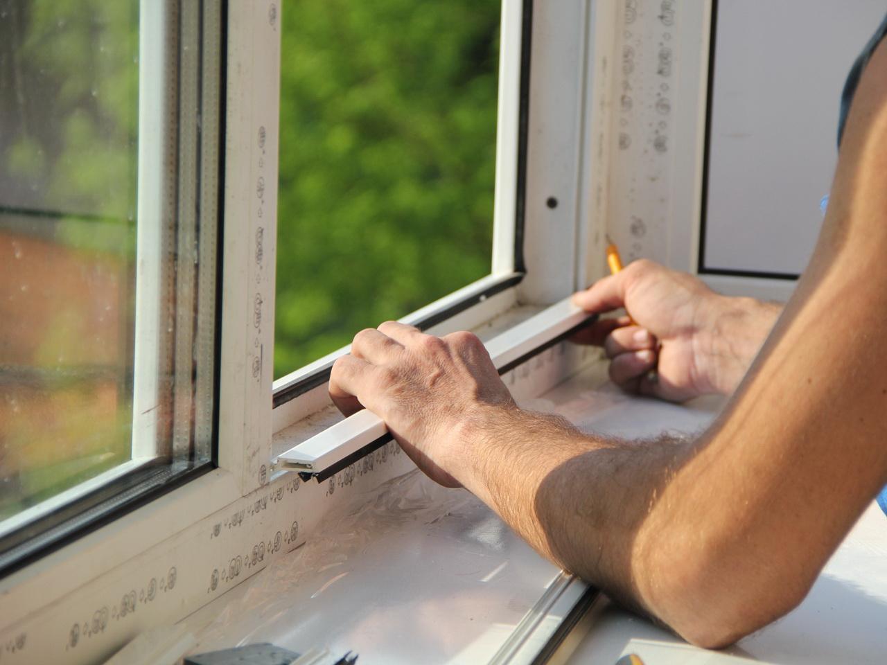 Пластиковые окна вставить своими руками