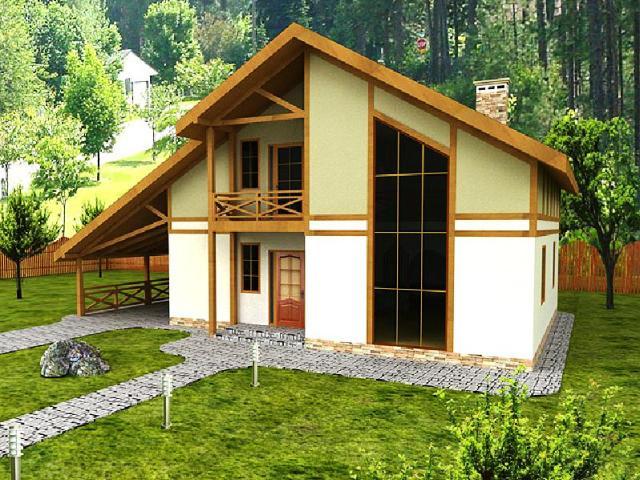 А канадская каркасная технология строительства домов является одной из самых современных