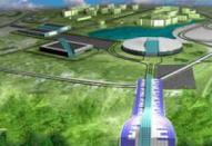 В Полтаве начато строительство горнолыжного спуска и аквапарка